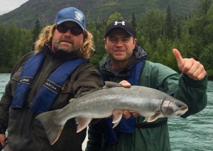 fishing with Jason Lesmeister Guide