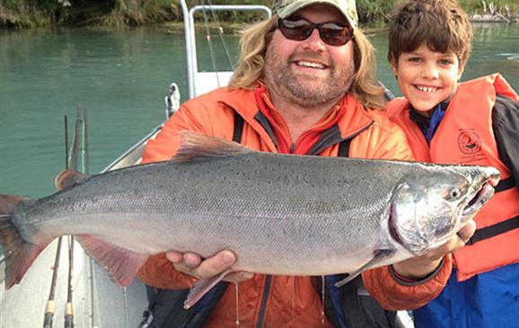 Silver Salmon fishing with jasons guide service