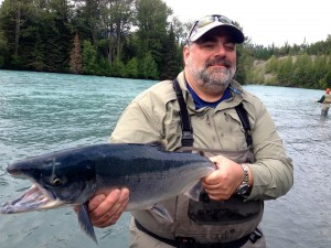 Trophy sockeye Salmon Fishing on Kenai